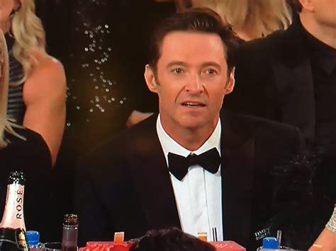 Hugh Jackman Meme - hugh jackman became a meme during the 2018 golden globes