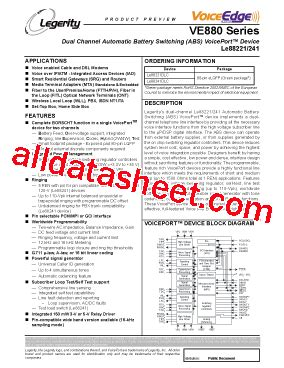 transistor dlc le88221dlc datasheet pdf list of unclassifed manufacturers