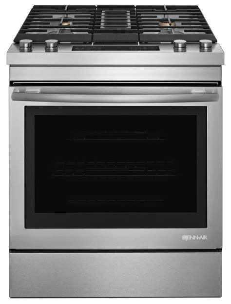 jenn air kitchen appliances jenn air offers 30 inch range with built in downdraft