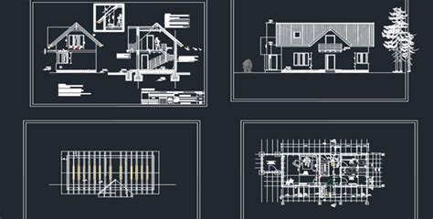 home design dwg download wooden house detail autocad drawings free dwg 187 cadsle com