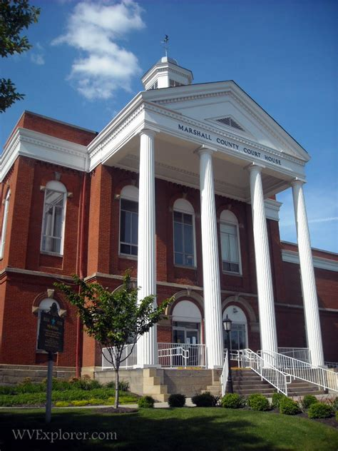 Marshall County Property Records Marshall County Court House West Virginia Explorer