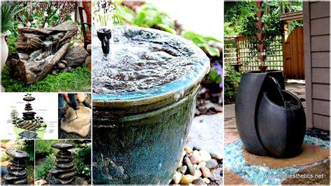 wonderful outdoor diy water features tutorials