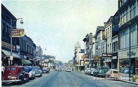 1960 House Photo Of Downtown Brantford Circa 1960 Brant