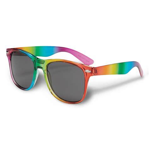 Kacamata Sunglass Sport Fashion Rainbow A rainbow malibu sunglasses boost promotions
