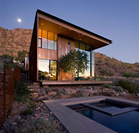 modern house in arizona jarson residence interior