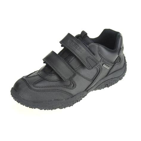 geox school shoes for geox baltic boys black waterproof school shoe ebay