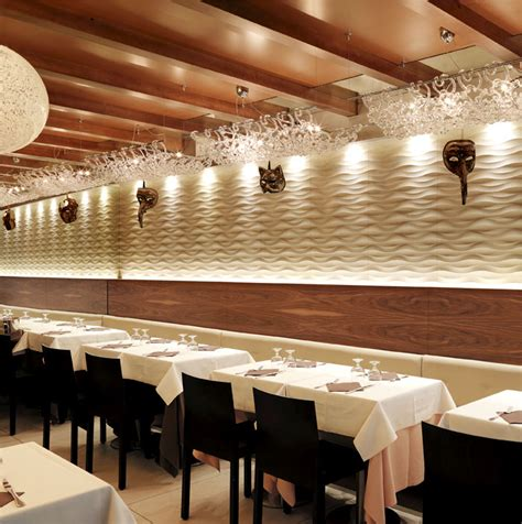walls how to apply restaurant wall design for home traccia wall panel by lithos design at marciana restaurant