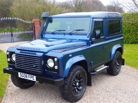 blue land rover used blue land rover defender for sale essex