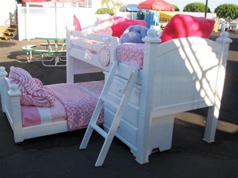 Junior Bunk Beds Toddlers Tumbleweed Junior Loft Bunk Bed Alley Factory Direct Custom Furniture