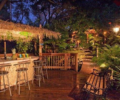 tiki bar for backyard tiki tiki backyard garden pinterest