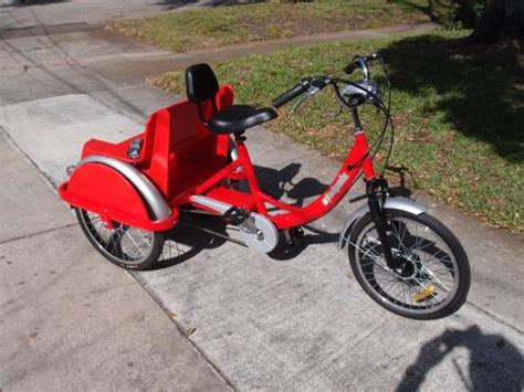 trike with back seat electric tricycle built with custom rear seat for v