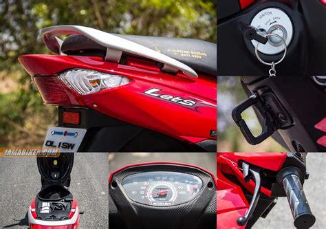 Suzuki Scooter Accessories Suzuki Lets Scooter Accessories And Key Features