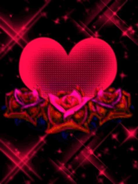 imagenes de corazones unidos por rosas 7 imagenes de corazones de amor bonitas con movimiento