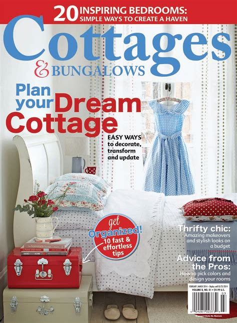 cottages and bungalows magazine subscription save up to