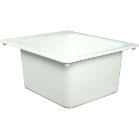 fiat dl 1 sink fiat 17 in x 20 in molded countertop mount utility