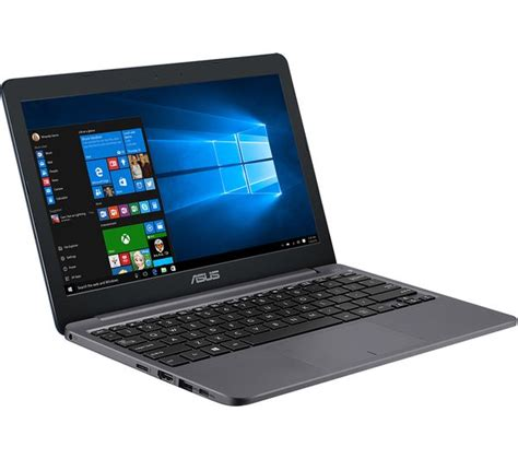 New Notebook Asus E203nah Fd013t Intel N3350 2gb 500gb 11 6 Win 10 buy asus vivobook e12 11 6 quot laptop grey office 365
