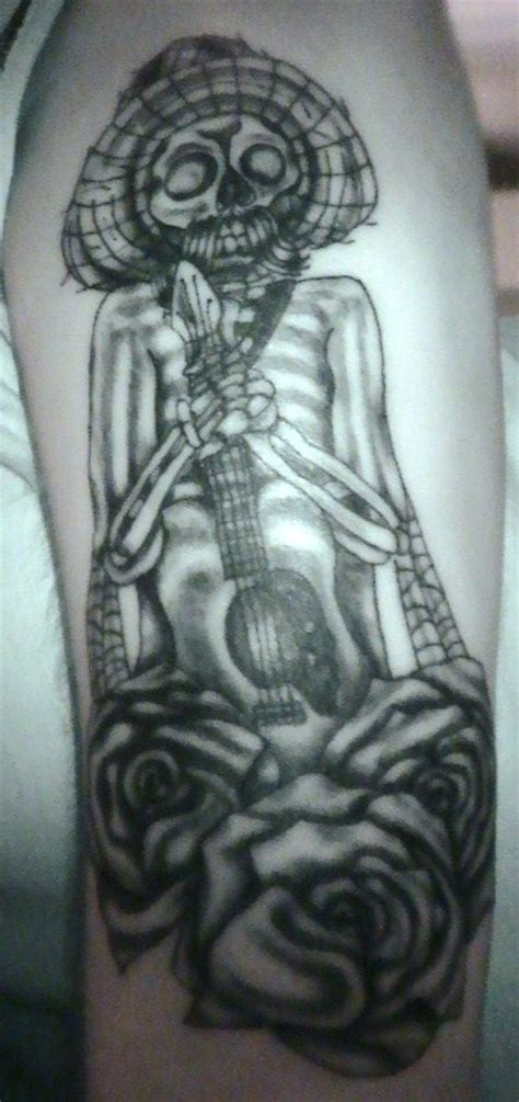 mariachi tattoo mariachi skeleton picture