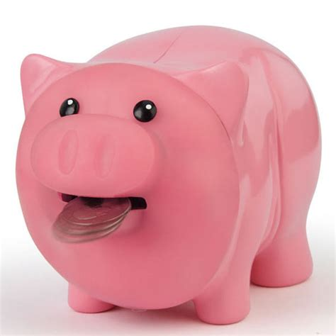piggy bank hungry piggy bank eats your money the green