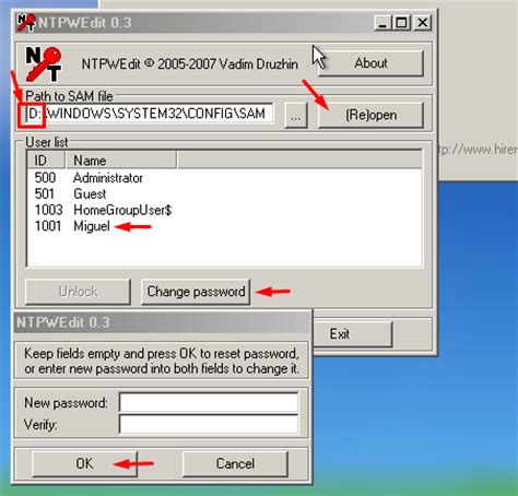 how do you reset vista password recover windows 7 forgotten password by avoiderrors