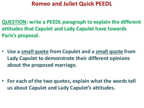 theme of romeo and juliet in one sentence essay on lady capulet