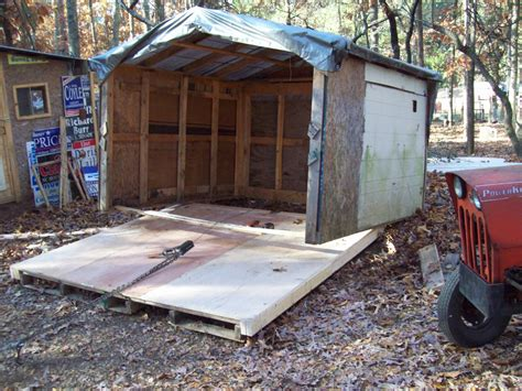 Shed Built Out Of Pallets by Coop For 100 00