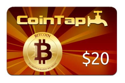 Blockchain Gift Cards - cointap is a canadian startup offering bitcoin gift cards