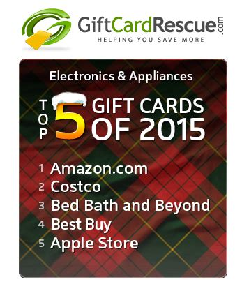 Gift Card Swap Website - giftcardrescue com releases annual top 20 gift card list for 2015
