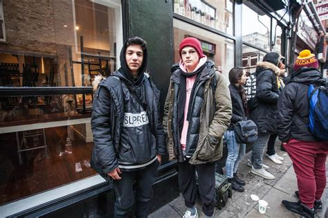 supreme europe store the 14 year olds spending thousands on streetwear vice