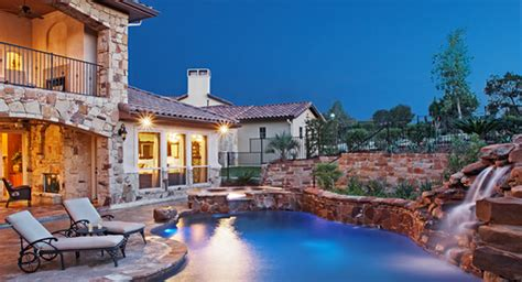 tuscan style homes spanish style home with pool the house plans innovative new house plans from the house