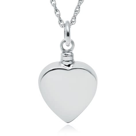 ashes pendant personalised engraved 925 sterling silver