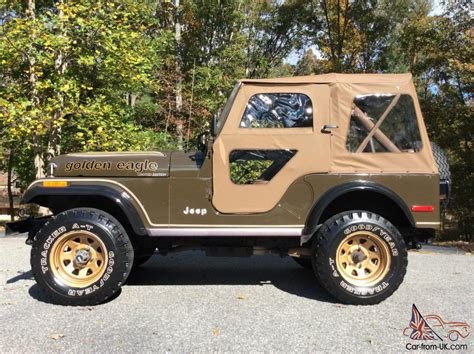 Jeep Cj Golden Eagle All Original