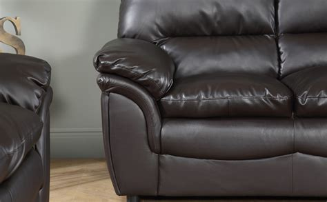 2 seater dark brown leather sofa rochester dark brown leather sofa suite 3 2 seater only 163
