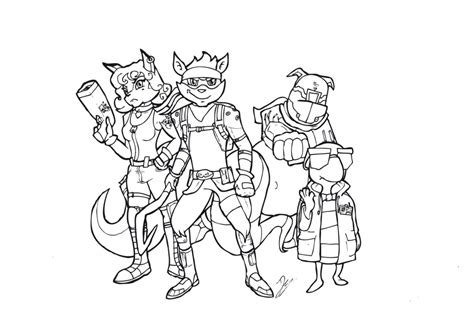sly cooper coloring pages sketch coloring page