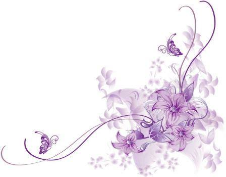 Wallpaper Sticker Motif Lavender Purple Ukuran 45 Cm X 10 Meter fotomural floral morado mural floral morado pinteres