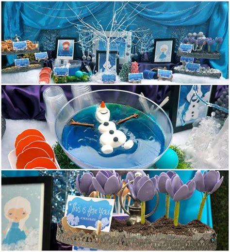frozen themed decoration ideas kara s ideas frozen inspired birthday decor