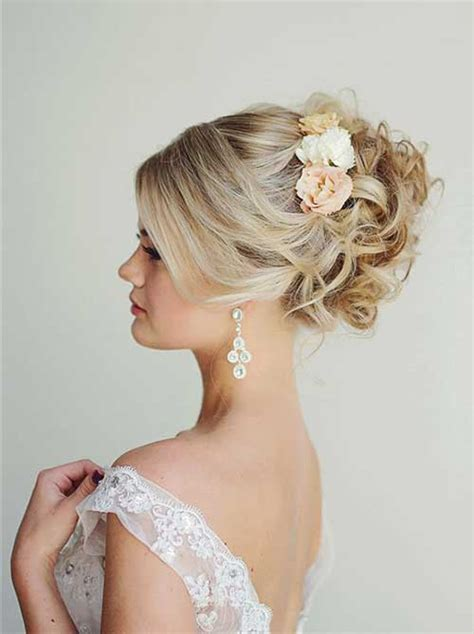 pic of 15 hair 40 best wedding hairstyles for long hair long