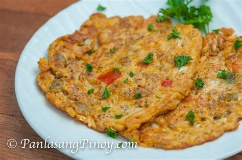 Mondays Leftovers Ground Beef Omelet by Ground Pork Kaldereta Omelet Panlasang