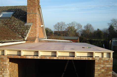 Garage Roof Construction Building A Flat Roof Garage Images