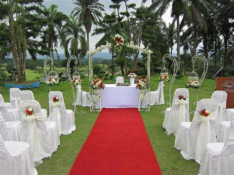 Garden Wedding Decor Ideas Liangliang Diary Garden Wedding Decoration Bukit Jawi Golf Course