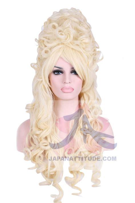 Marie Antoinette Chandelier Perruque Blonde Boucl 233 E Marie Antoinette 80cm Cosplay