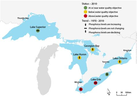 lakes of canada map maintaining water quality and availability canada ca
