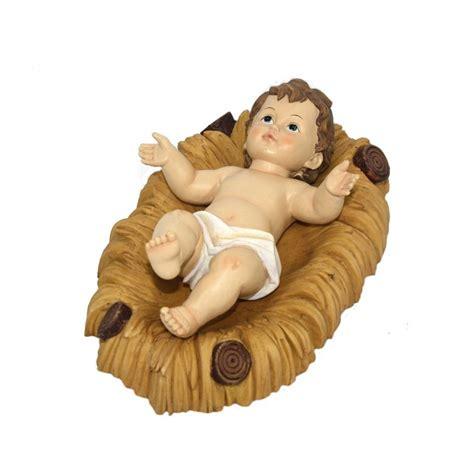 la culla bambino gesu bambino 32 cm con culla assisi souvenir