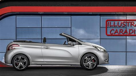 peugeot 208 cabriolet for peugeot 208 convertible due in 2015 with soft top report
