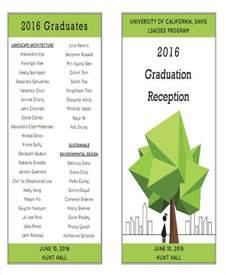 graduation program template 6 graduation program templates exles in word pdf