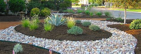 rock landscape design decorative ground cover hardscape and masonry articles