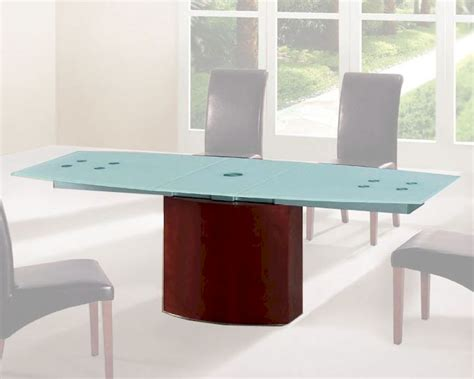 Frosted Glass Dining Table Frosted Glass Top Dining Table European Design 33d362