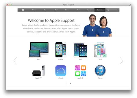 online help layout apple spruces up online support portal with new simpler