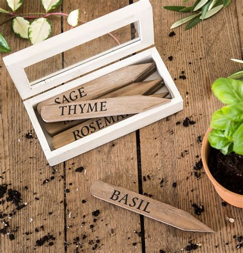 herb garden markers a giveaway the honeycomb home herbal plant stakes magnolia chip joanna gaines