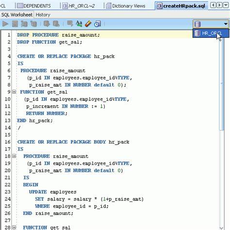 tutorial for oracle sql developer pl sql developer tutorial ptsakalidis com
