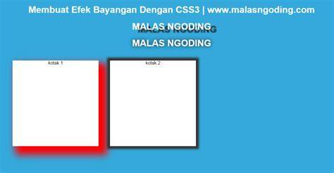 membuat efek link dengan css membuat efek bayangan dengan css3 css3 part 4